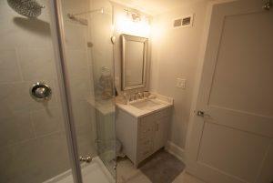 custom basement remodel auburn landing custom builder bathroom vanity