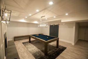 custom basement remodel auburn landing custom builder pool table