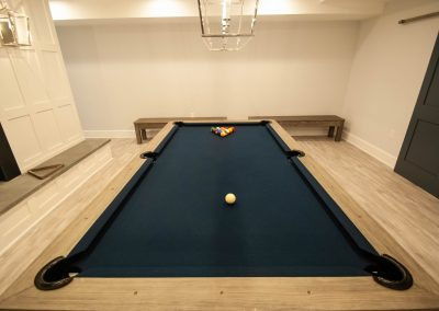 custom basement remodel auburn landing custom builder pool table
