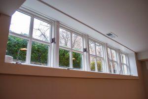 custom basement remodel auburn landing custom builder home windows