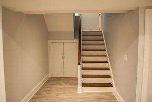 custom basement remodel auburn landing custom builder home closet
