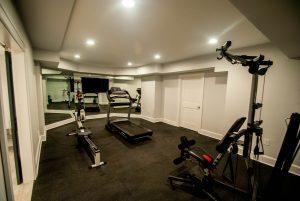 custom basement remodel auburn landing custom builder gym