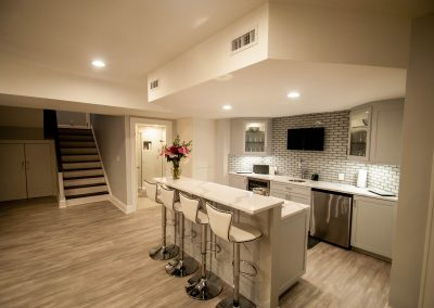 custom basement remodel auburn landing custom builder kitchen